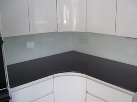 Custom back painted glass in long island new york for Back painted glass tile