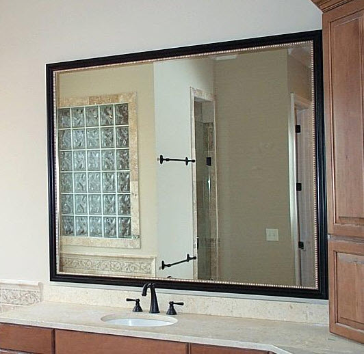 Bathroom Mirror Installation custom mirror installation and repair in long island and metro