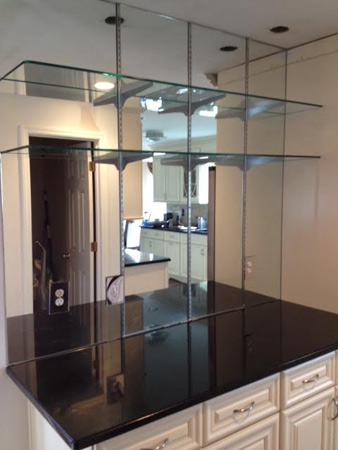 custom mirror installation and repair in long island and. Black Bedroom Furniture Sets. Home Design Ideas